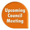 Upcoming Council Meeting